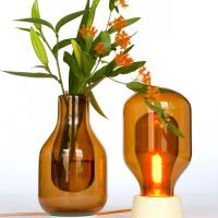 Dewar Vase and Dewar Light. David Derksen, 2012-2013